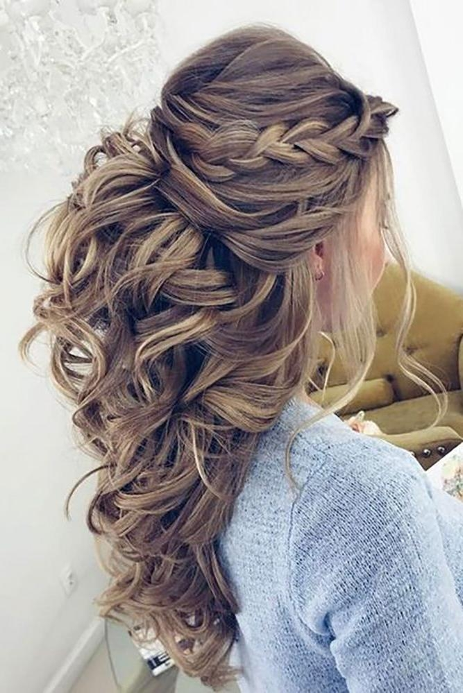 Top 25+ Best Wedding Hairstyles Ideas On Pinterest | Wedding For Long Hairstyles Wedding (View 14 of 15)