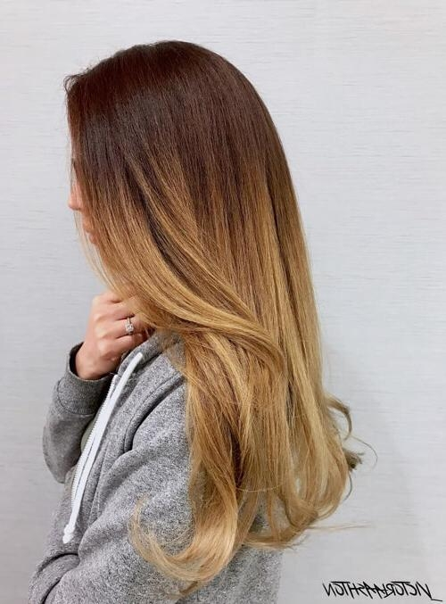 Top 25 Ombre Hair Color Ideas Trending For 2017 In Long Hairstyles Ombre (View 2 of 15)