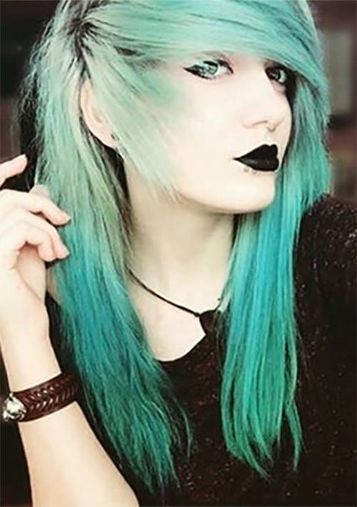 Top 50 Emo Hairstyles For Girls Pertaining To Long Emo Hairstyles (View 7 of 15)