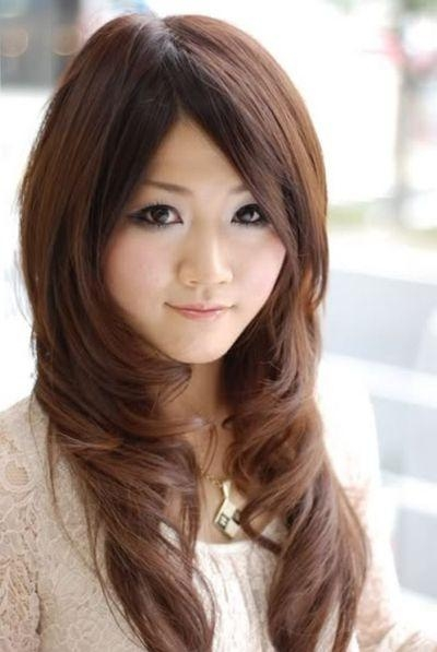 2019 Popular Long Layered Japanese Hairstyles