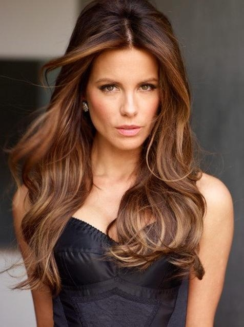 Trendy Highlights For Brunette Hair – Gorgeous Brunette Hairstyles With Regard To Long Hairstyles Brown With Highlights (View 2 of 15)
