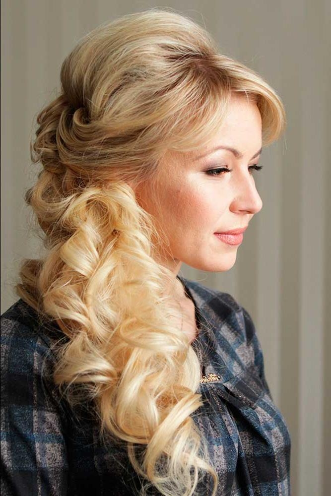 Trubridal Wedding Blog | 30 Mother Of The Bride Hairstyles Intended For Long Hairstyles Mother Of Bride (View 15 of 15)