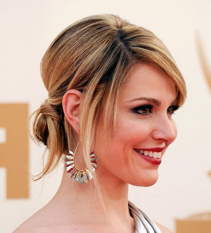 Updo Hairstyles For Long Hair With Fringe – Popular Long Hair 2017 In Updo For Long Hair With Bangs (View 12 of 15)