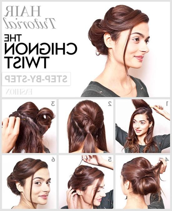 Updo Hairstyles For Prom Tutorials (View 14 of 15)