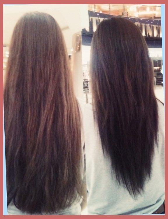 V Shaped Haircut Long Hair Pictures – Popular Long Hair 2017 Inside Long Hairstyles V Shape At Back (Gallery 4 of 15)