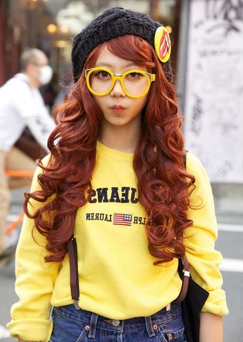 Very Cute Long Hairstyles For Girls With Glasses – New Hairstyles Pertaining To Long Hairstyles With Glasses (View 14 of 15)
