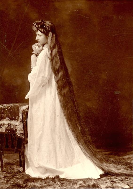 Victorian Hairstyles: A Short History, In Photos – Whizzpast For Long Victorian Hairstyles (Gallery 10 of 15)