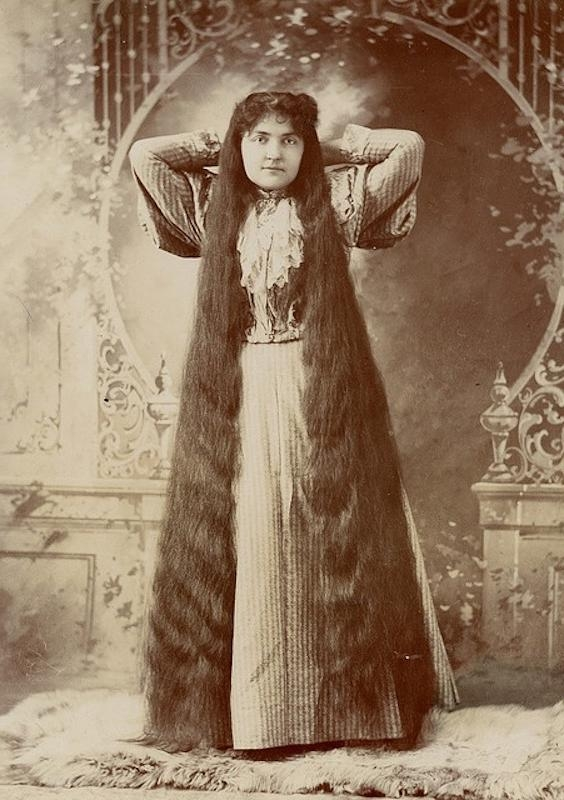 Victorian Hairstyles: A Short History, In Photos – Whizzpast In Long Victorian Hairstyles (Gallery 3 of 15)