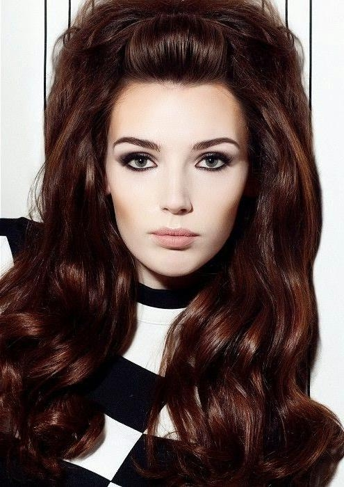 Vintage Hairstyles: Vintage Hairstyles For Long Hair In Vintage Hairstyles For Long Hair (Gallery 5 of 15)