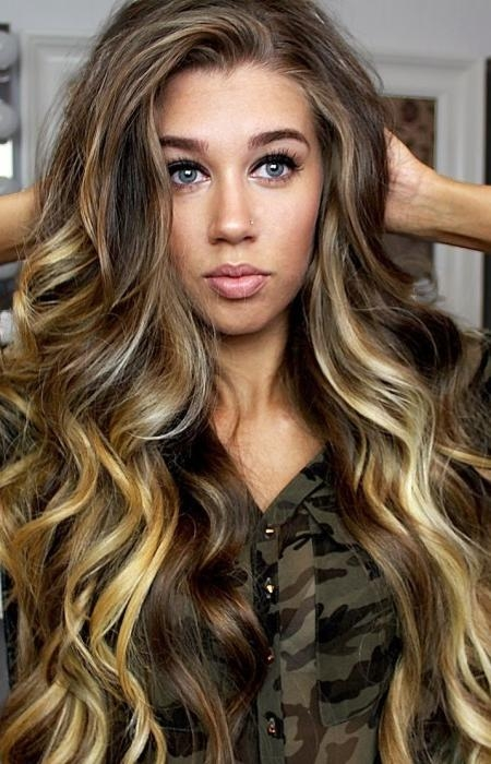 Wavy Hairstyles | Haircuts, Hairstyles 2017 And Hair Colors For Throughout Long Hairstyles Loose Curls (View 15 of 15)