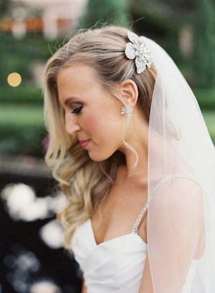 Wedding Hairstyles Pulled Back (View 15 of 15)