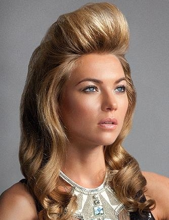 Womens Quiff Hairstyle Long Hair – Popular Long Hair 2017 Intended For Womens Long Quiff Hairstyles (View 14 of 15)