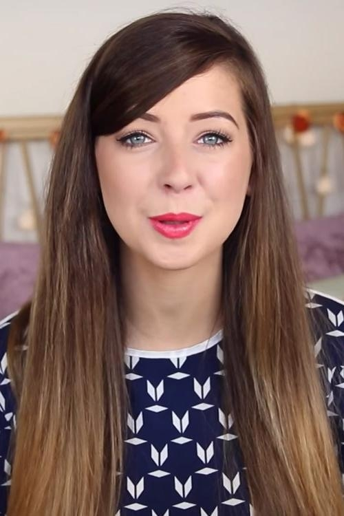 Zoella's Hairstyles & Hair Colors | Steal Her Style | Page 2 With Regard To Zoella Long Hairstyles (View 6 of 15)
