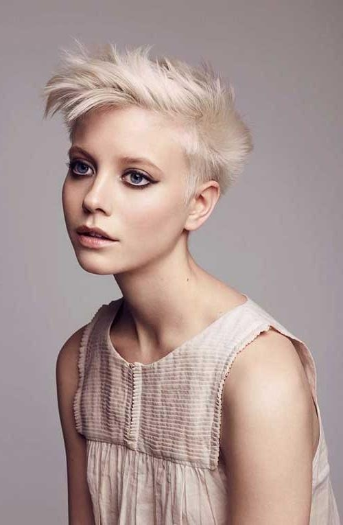 10 Cute Short Hairstyles For Round Faces | Short Hairstyles 2016 Intended For Short Girl Haircuts For Round Faces (View 7 of 15)