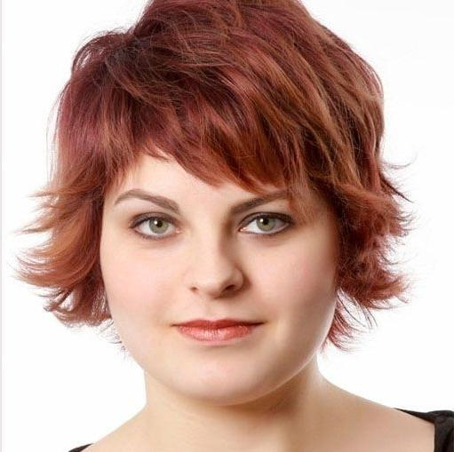10 Trendy Short Hairstyles For Women With Round Faces | Styles Weekly Regarding Short Hairstyles For Chubby Faces (View 2 of 15)