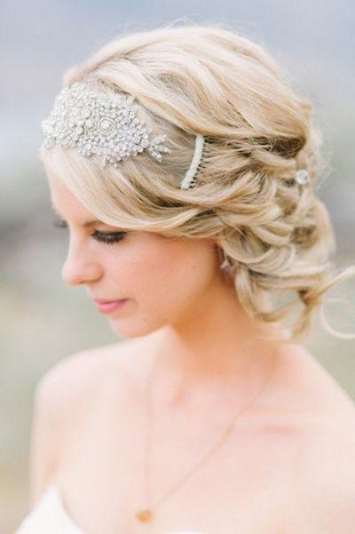 100 Greatest Wedding Hairstyle Ideas With Short Hair With Regard To Hairstyles For Brides With Short Hair (View 1 of 15)