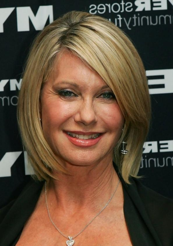 Photo Gallery of Hairstyles For The Over 50S Short ...