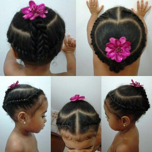 1014 Best Little Black Girl Hairstyles Images On Pinterest With Black Little Girl Short Hairstyles (View 1 of 14)