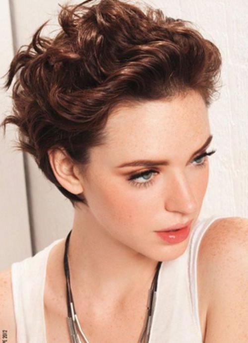 111 Amazing Short Curly Hairstyles For Women To Try In 2017 For Short Haircuts For Women Curly (View 1 of 15)