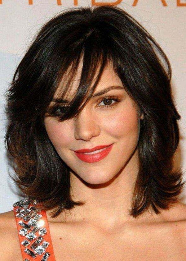 Featured Photo of Medium To Short Haircuts For Thick Hair