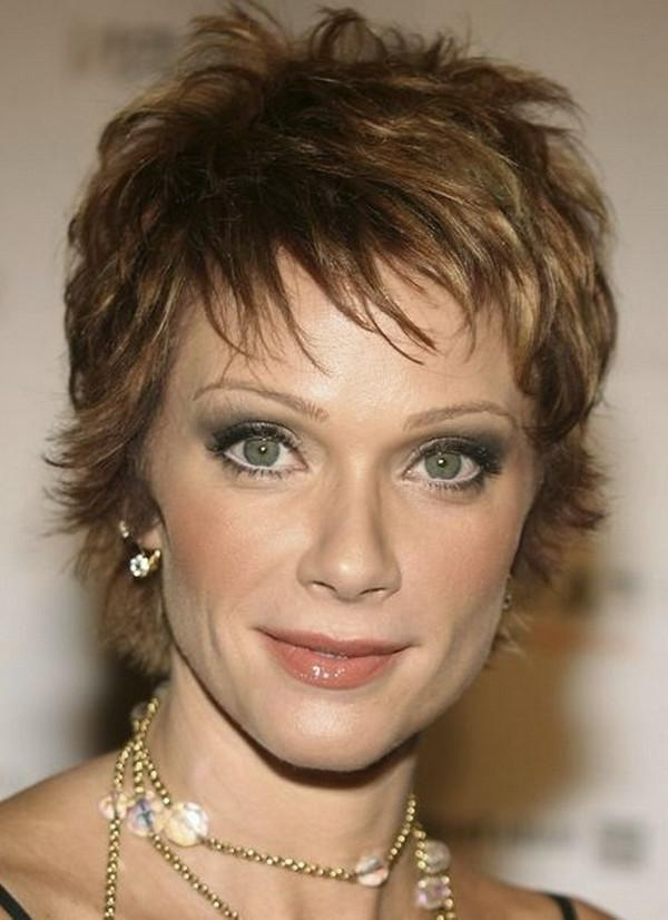 Featured Photo of Short Hairstyles For Women Over 40 With Thin Hair