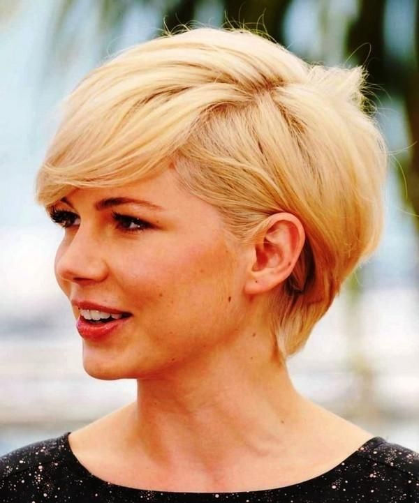 111 Hottest Short Hairstyles For Women 2017 – Beautified Designs With Short Haircuts Women Round Face (View 1 of 15)