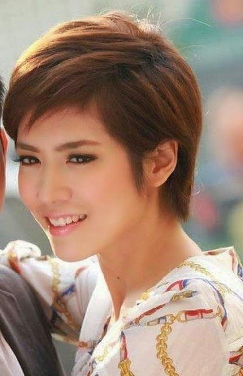 12 Best Asian Haircuts Images On Pinterest | Hairstyles, Short In Short Haircuts For Asian Girl (View 14 of 15)