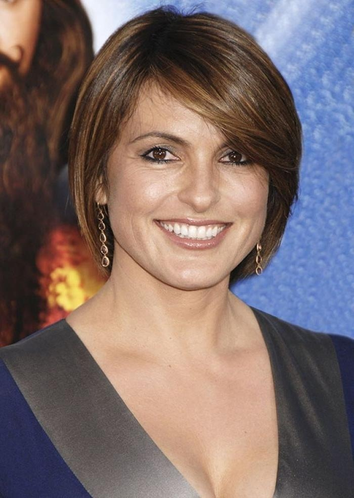 2018 Latest Short Hairstyles For Long Faces Over 40