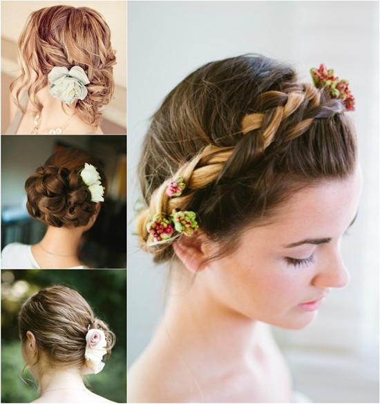 Cute Wedding Updos For Short Hair