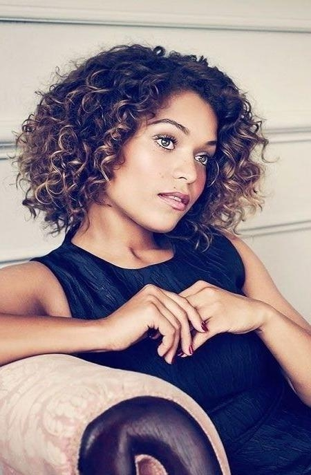 12 Pretty Short Curly Hairstyles For Black Women | Styles Weekly Intended For Short Curly Haircuts Tumblr (View 4 of 15)