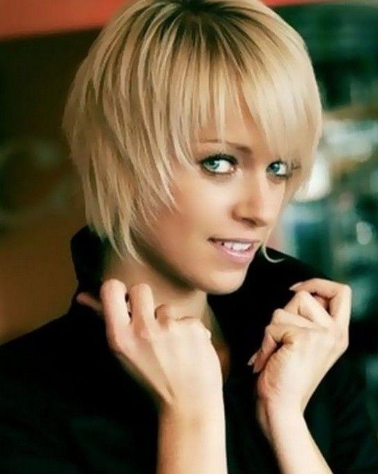 122 Best Hair Images On Pinterest | Hairstyles, Hairstyle For Regarding Cute Hairstyles For Short Thin Hair (View 8 of 15)