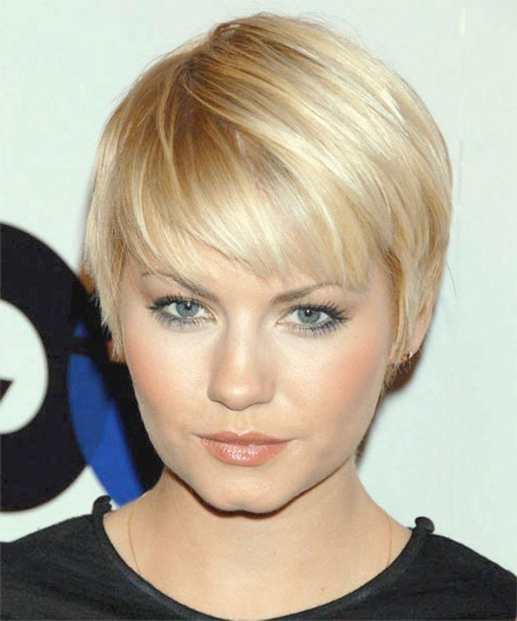 126 Best Hair Styles For Round Faces Images On Pinterest Within Super Short Hairstyles For Round Faces (View 2 of 15)