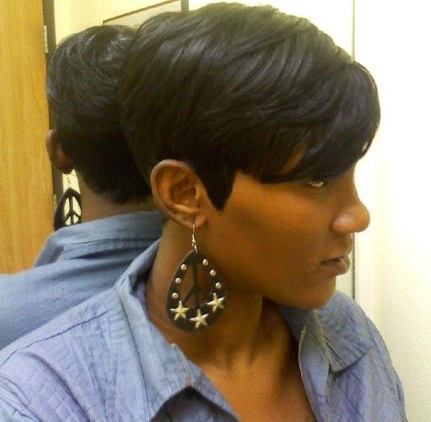 13 Fabulous Short Bob Hairstyles For Black Women – Pretty Designs With Short Black Bob Haircuts (View 1 of 15)