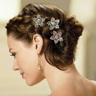 Photo Gallery of Bridal Hairstyles Short Hair (Viewing 6 of 15 Photos)