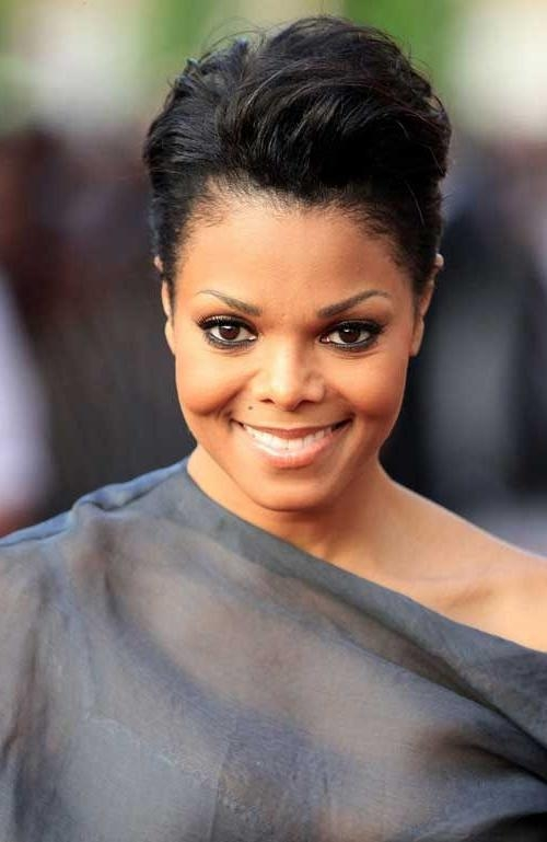149 Best Short Hair Images On Pinterest | Hairstyles, Braids And Inside Short Black Hairstyles For Oval Faces (View 12 of 15)