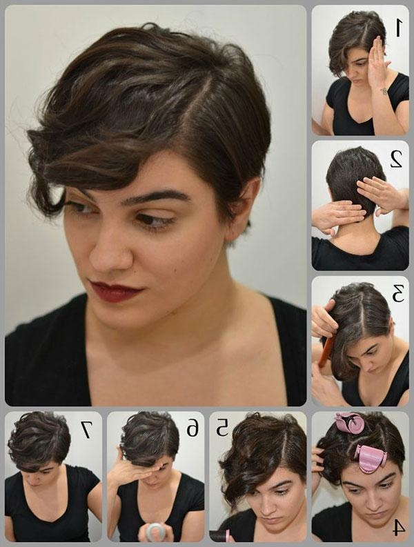 15 Cute, Easy Hairstyle Tutorials For Short Hair, Pixie Cuts With Regard To Really Cute Hairstyles For Short Hair (View 2 of 15)