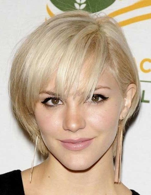 15 Cute Short Hairstyles For Thin Hair | Short Hairstyles 2016 For Cute Short Haircuts For Fine Hair (View 3 of 15)