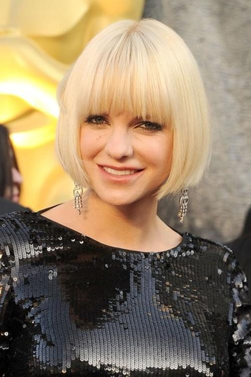 15 Good Actresses With Short Blonde Hair | Short Hairstyles For Short Blonde Hair With Bangs (View 1 of 15)