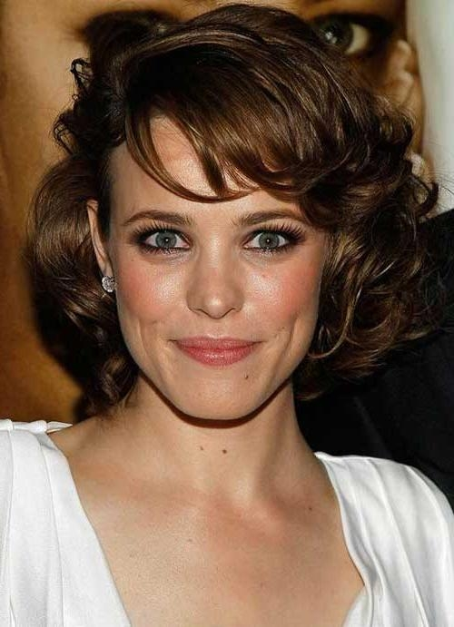 15 Latest Short Curly Hairstyles For Oval Faces | Short Hairstyles Pertaining To Oval Face Short Hair (View 9 of 15)