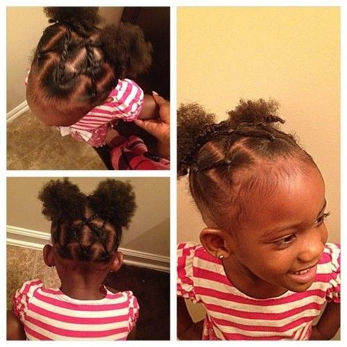 Best Black Baby Girl Hairstyles Contemporary - Styles & Ideas 2018 ...