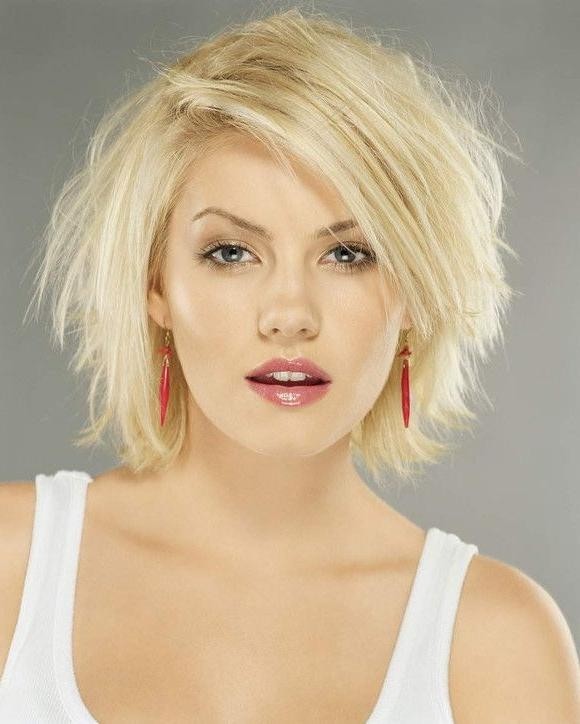 16 Best Round Face Hairstyles 2015 Images On Pinterest Intended For Semi Short Layered Hairstyles (View 6 of 15)