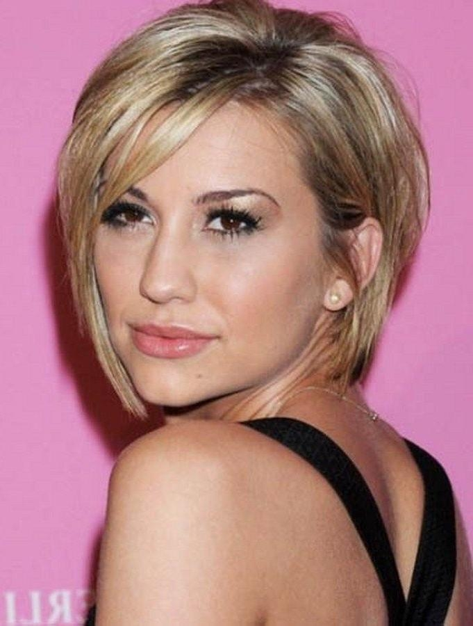 19 Best Hairstyles Images On Pinterest | Hairstyles, Short Hair Throughout Short Haircuts For Thin Faces (View 5 of 15)