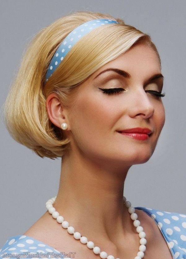 Photo Gallery of Vintage Hairstyle For Short Hair (Viewing 6 of 15 ...