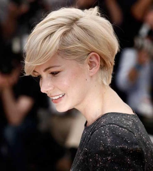 Photo Gallery Of Cute Hairstyles For Short Thin Hair Viewing 9 Of