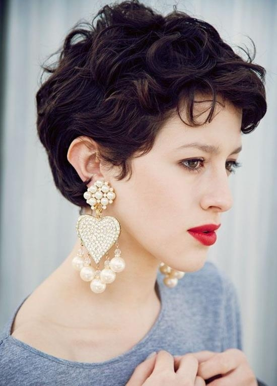 20 Best Short Wavy Haircuts For Women – Popular Haircuts Throughout Short Hairstyles For Women Curly (View 14 of 15)