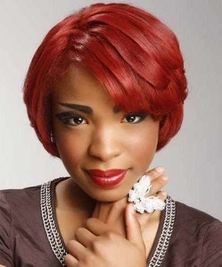 20 Cute Hairstyles For Black Teenage Girls Regarding Short Hairstyles For Black Teenagers (View 3 of 15)