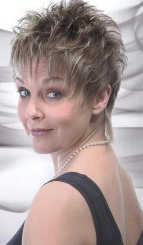 20 Pixie Haircuts For Women Over 50 | Short Hairstyles 2016 – 2017 Throughout Hairstyles For Short Hair For Women Over 50 (Gallery 7 of 15)
