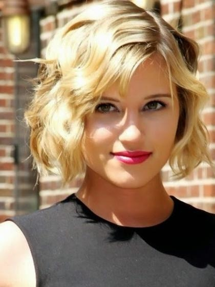 20 Ravishing Short Haircuts For Fine Hair Regarding Short Wavy Hairstyles For Fine Hair (View 3 of 15)