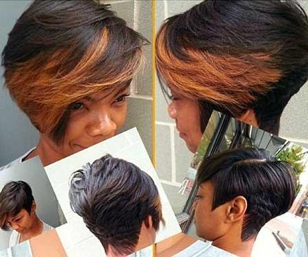 20 Short Bob Hairstyles For Black Women | Short Hairstyles 2016 Within Short Layered Hairstyles For Black Women (View 4 of 15)