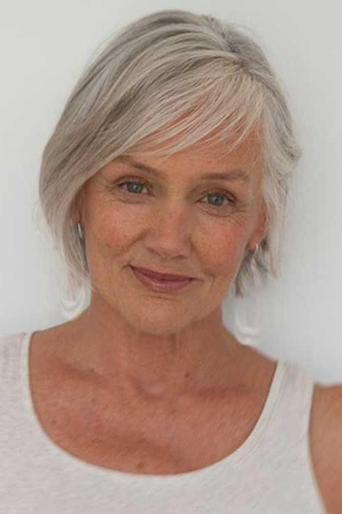 2019 Latest Short Bob Hairstyles For Over 50s